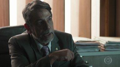 Siqueira quer investigar o assassinato de Gilberto e Dalva - O delegado diz que o ministério público vai se interessar pelo caso. Antônia comemora