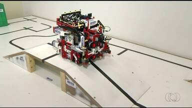 Estudantes de Araguaína participam de competição de robôs - Estudantes de Araguaína participam de competição de robôs