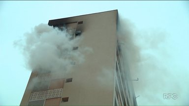 Incêndio em apartamento pode não ter sido um acidente - O incêndio foi durante a madrugada e uma pessoa morreu.