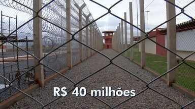 Penitenciária federal, no Complexo da Papuda, será inaugurada no ano que vem - A penitenciária é de segurança máxima e vai ser a quinta do Brasil. As obras, avaliadas em R$ 40 milhões, atrasaram três anos.