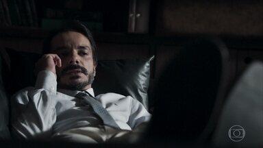 Inácio aconselha Samuel a insistir com tratamento - Psquiatra conversa com o amigo sobre a noite frustrante que teve com Suzy