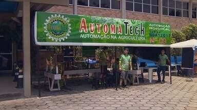 Alunos levam novidades para feira de tecnologia da Fucapi, em Manaus - Robô humanoide será apresentado nesta sexta-feira (10).
