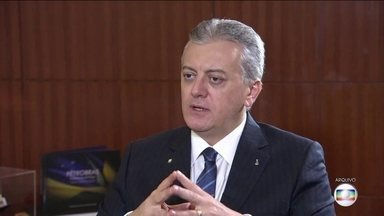 Réus na ação que investiga ex-presidente da Petrobras são interrogados - Na Operação Lava Jato, Aldemir Bendine é acusado de receber três milhões de reais como propina. Um dos réus é Marcelo Odebrecht.