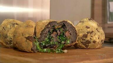 Aprenda a receita do bolinho de feijoada - Aprenda a receita do bolinho de feijoada