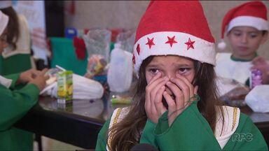 Menina de dez anos escreve carta com pedido emocionante: uma cesta básica para os avós - O pedido da Lorena é um dos inúmeros nas cartinhas da Campanha de Natal dos Correios. A campanha começou nesta sexta-feira (10).