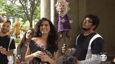 Viva BH: Praça da Liberdade é lugar cheio de história, cultura e arquitetura - Cartão-postal disputa campanha que vai escolher o ponto que é a cara de Belo Horizonte. Veja a participação da cantora Aline Calixto e do Grupo Giramundo.