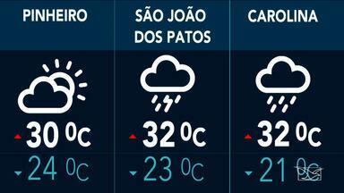Confira a previsão do tempo no Maranhão - Possibilidade de chuva é pequena em São Luís, mas o tempo continua parcialmente nublado nesta sexta-feira (10).