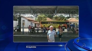 Sistema de cartões do transporte coletivo de Araçatuba fica fora do ar - O sistema de computador que valida cartões de passe do transporte coletivo de Araçatuba (SP) está fora do ar desde a madrugada desta sexta-feira (10).