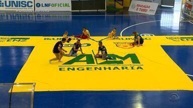 Com grande apoio da torcida, ASSOEVA disputa vaga na final da Liga Nacional de Futsal - Assista ao vídeo.