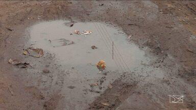 Comunidade em Peritoró reclama de péssimas condições em área urbana da cidade - Preocupação é maior por causa das chuvas que começaram a cair na região.