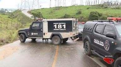 Megaoperação da polícia faz buscas às margens de lagoa em Viana, ES - Policiais que estão no local informaram que um corpo foi encontrado no local, mas a assessoria da Polícia Civil ainda não confirma a informação.
