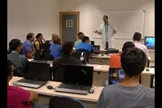 Curso do Senai forma antenistas para realizar serviços de instalações de TV Digital - Curso é realizado pelo Senai, em Belém