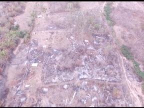 Vários crimes ambientais foram encontradas no Parque Nacional Cavernas do Peruaçu - O parque se encontra no Norte de Minas