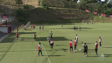 Vitória enfrenta o Grêmio no fim de semana; Mancini comenta sobre a escalação - Confira as notícias do rubro-negro baiano.