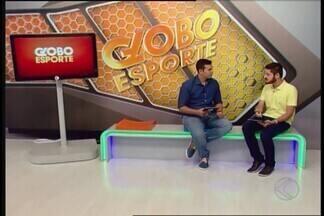 Repórter do GloboEsporte.com comenta sobre jogos do fim de semana - Além do Praia Clube, que pega o Bauru, Lucas Papel fala sobre a rodada da Copa Regional Sub-20 neste sábado