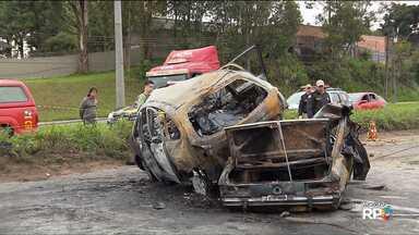 Justiça determina prisão de motorista que causou o acidente que deixou 5 mortos - Ele ainda não se apresentou na delegacia e é considerado foragido.