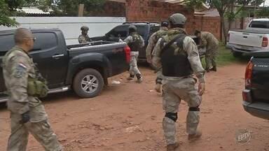 Morador de Campinas é preso no Paraguai acusado de tráfico de drogas - Operação da Polícia Nacional do Paraguai prendeu dois paraguaios e cinco brasileiros na periferia de Pedro Juan Caballero.