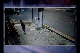 Estudante continua internado depois de ser baleado em tentativa de assalto em Belém - As imagens de câmeras de segurança registraram o crime e foram usadas para identificação do suspeito, preso em Belém.