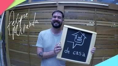 Felipe Miranda ensina a fazer quadro negro para a decoração da sua casa - É super fácil de fazer, confira!