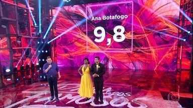 Cris Vianna e Rodrigo são avaliados pelos jurados - Dupla recebe elogios do júri artístico e é bem avaliada pelo júri técnico