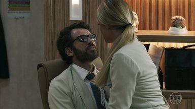 Samuel marca um novo encontro com Suzy - Ele muda a escala de plantão da enfermeira