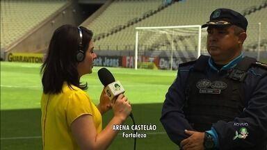 Jogo que pode dar acesso à Série A ao Ceará tem esquema especial de segurança - Confira mais notícias em G1.Globo.com/CE