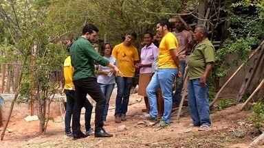 Estudantes da UFCA realizam práticas de sustentabilidade para comunidade rual em Barbalha - Saiba mais em g1.com.br/ce