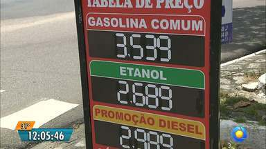 Gasolina está custando quase 4 reais em João Pessoa - Entre julho e novembro chegou a aumentar 27 por cento nas refinarias.