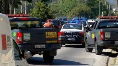 Polícia faz operação em Nova Friburgo e no Rio para cumprir mandados de prisão - Assista a seguir.