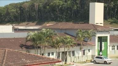 Armas, munições e facas são apreendidas na Penitenciária Industrial de Joinville - Armas, munições e facas são apreendidas na Penitenciária Industrial de Joinville