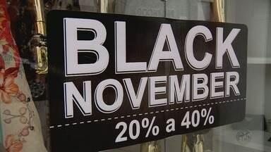 Lojistas esticam promoções da Black Friday para todo o mês de novembro - Lojistas esticam promoções da Black Friday para todo o mês de novembro
