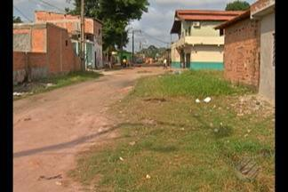 Vistoria do Calendário JL volta ao bairro de Águas Brancas, em Ananindeua - Moradores aguardam obras de saneamento.