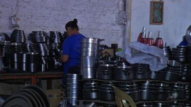 Empresas do ramo de alumínio tem queda no faturamento neste ano - Faturamento é cerca de 30% menor que no ano passado.