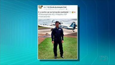 Corpo de piloto que morreu em queda de avião deve chegar ao Tocantins nesta quarta (15) - Corpo de piloto que morreu em queda de avião deve chegar ao Tocantins nesta quarta (15)