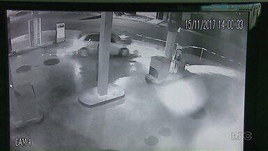 Ex-jogador do Operário é detido depois de se envolver em acidente embriagado - Carro bateu contra uma bomba de gasolina em um posto de combustível em Ponta Grossa