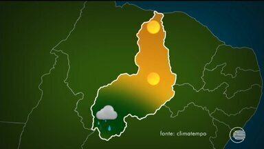 Confira o tempo nesta sexta-feira no Piauí - Confira o tempo nesta sexta-feira no Piauí