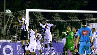 Mesmo jogando bem, Vasco empata com o Atlético-MG pela 35ª rodada - Em jogo com 32 finalizações, Vasco e Atlético-MG terminam empatados em 1 a 1.