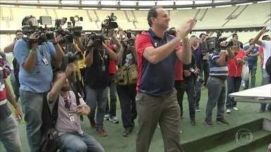Rogério Ceni é apresentado como técnico do Fortaleza - Rogério Ceni é apresentado como técnico do Fortaleza