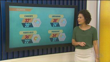 Pode chover agora à tarde em todo Estado - Frente fria chega ao Paraná na madruga de amanhã e traz chuva para toda região.
