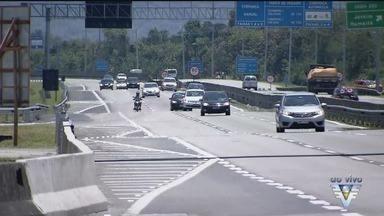 Geraldo Alckmin entrega a obra da 3ª faixa da rodovia Padre Manoel da Nóbrega - O nova faixa aumentará a capacidade de fluxo na região durante a temporada de verão.