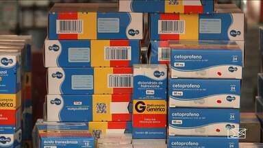 Consumidores resistem a compra de medicamentos genéricos no MA - No mercado há 18 anos, os medicamentos genéricos chegam a ter menos da metade do preço dos remédios de marca.