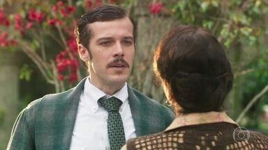Henriqueta expulsa Fernão da Quinta - A doceira flagra o doutor chamando por Tereza e o confronta