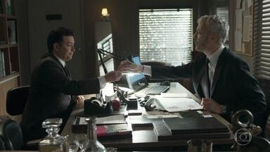 Nelito pede a Douglas para ficar no quarto de Cristovão - Ele diz que se desentendeu com a irmã e pede para ficar no hotel