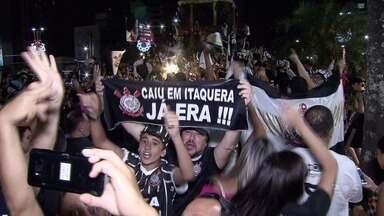 Corinthians garante o título do Campeonato Brasileiro de 2017 - Confira a festa dos torcedores da região.