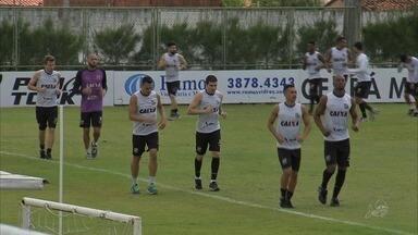 Ceará faz último treino antes de jogo que pode garantir acesso à Série A - Confira mais notícias em G1.Globo.com/CE