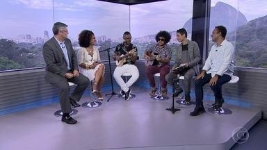 Dudu Nobre e Mariene de Castro cantam juntos no estúdio do RJ - Os artistas fazem parte do time de atrações da semana da consciência negra.
