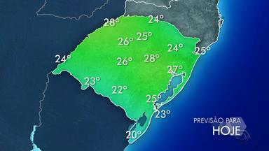 Tempo: há alerta de temporais para algumas regiões do RS neste sábado (18) - Assista ao vídeo.