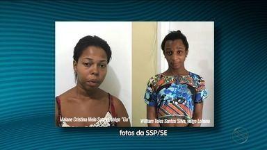 Polícia prende suspeitos de matar adolescente em Nossa Senhora do Socorro - Polícia prende suspeitos de matar adolescente em Nossa Senhora do Socorro.