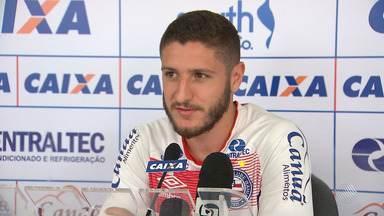 Zé Rafael fala sobre jogo do Bahia contra o Sport e sobre atuação no tricolor - Partida acontece no domingo (19) e terá transmissão da Rede Bahia.