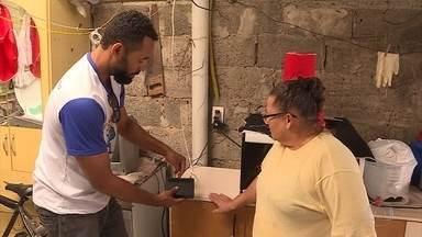Equipe da Patrulha Digital ajuda moradores de Ribeirão das Neves e Esmeraldas - O sinal analógico será totalmente desligado, na próxima quarta-feira, dia 22.
